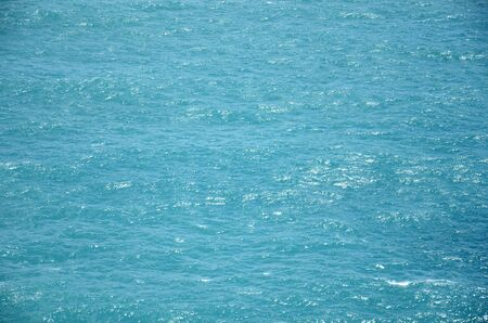 blue sea texture background photo