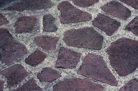 Texture of granite stone floor photo