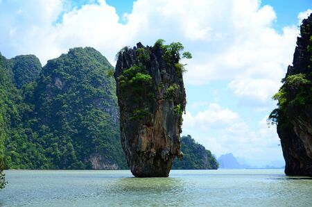 Tapu island  Phang-nga  Thailand  photo