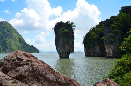 James Bond island  Phang-nga  Thailand  photo