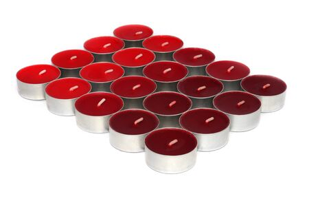 Red and Orange Candles photo