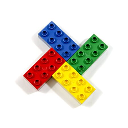 connection block: colorful blocks