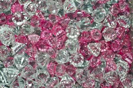 trinket: Plastic Diamond Bead Stock Photo