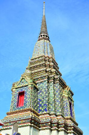 Pagoda of Thai s Temple photo