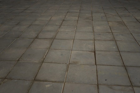 Gray Cement Block Flooring Image photo