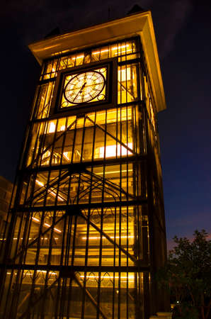 simulate: the clock tower intended to simulate Big Ben
