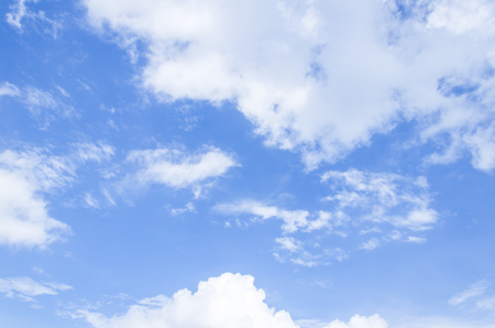 gloomy: Cloudy blue sky abstract background, blue sky background with tiny clouds