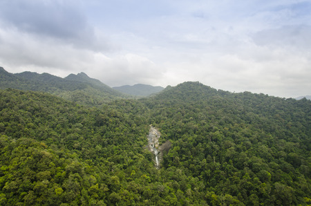 top 7: The Telaga Tujuh (Seven Wells) waterfall from Cable car at Langkawi, Malaysia