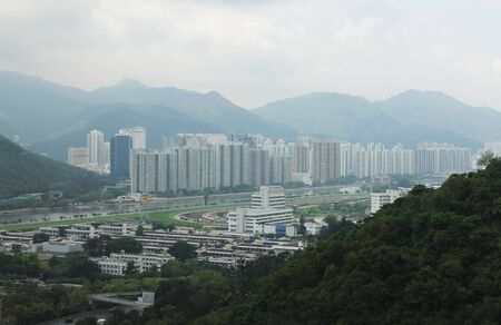 racecourse: Sha Tin Racecourse Hong Kong Stock Photo