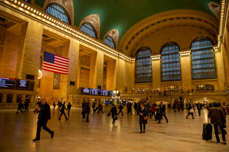 A near empty Grand Central Terminal in New York City during the morning rush on Friday, March 13, 2020. Companies have asked employees to work from home to avoid the spread of (COVID-19) coronavirus.(Photo: Gordon Donovan)
