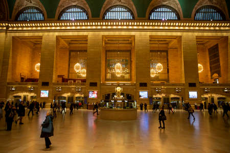 A near empty Grand Central Terminal in New York City during the morning rush on Friday, March 13, 2020. Companies have been asked employees to work from home to avoid the spread of (COVID-19) coronavirus.(Photo: Gordon Donovan)