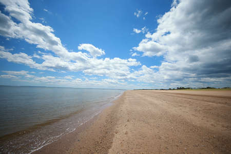 The empty beaches on Staten Island's south shore are quiet due to health risks to stop the spread of COVID-19 on June 1, 2020. (Photo: Gordon Donovan)