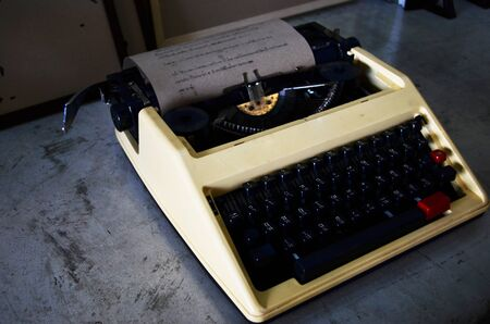 Old Typewriter Stock Photo - 16536093