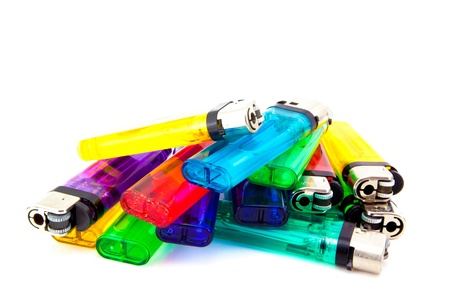 pile of lighters
