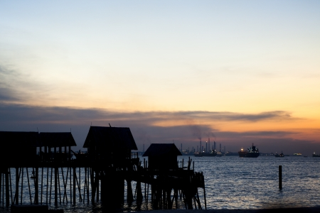 huts and ships photo