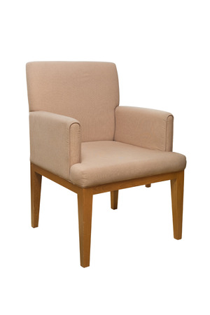 arm chair: modern style chair with fabric cover