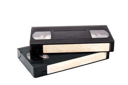 vdo: vdo cassette tapes isolate on white background