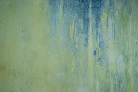 fading: pastel tone grungy wall with messy painting Stock Photo