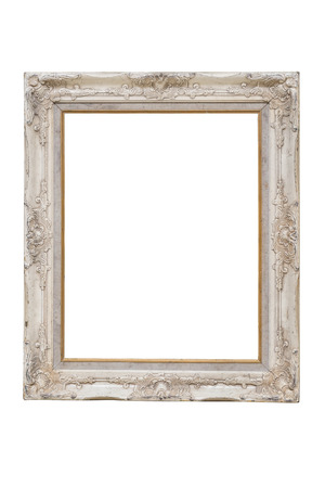 Aislar marco de la foto de la vendimia en el fondo blanco Foto de archivo - 31062441