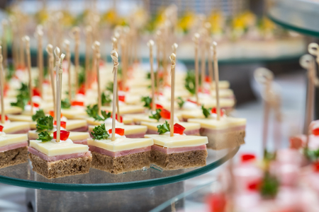 nibble: bite sized snack for wedding party
