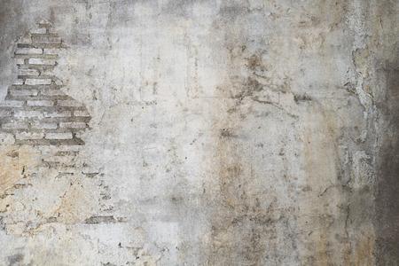 oude muur met scheuren achtergrond