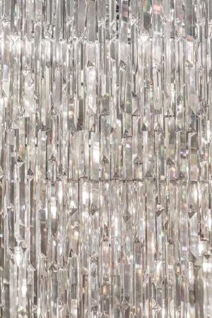 Kristal van de kroonluchter textuur Stockfoto