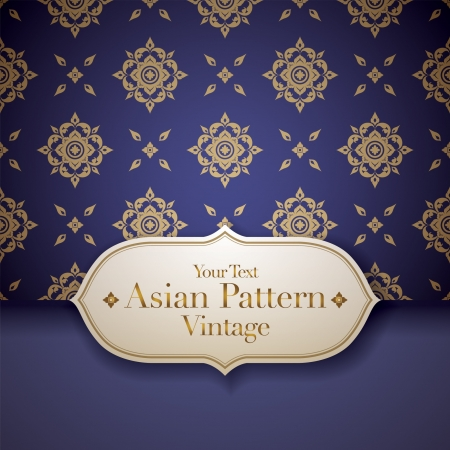 thai people: Thai Art Background, Thai art pattern