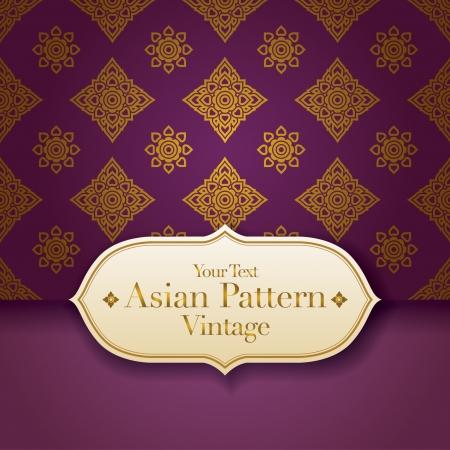 kelet ázsiai kultúra: Thai Art Background, Thai art mintás