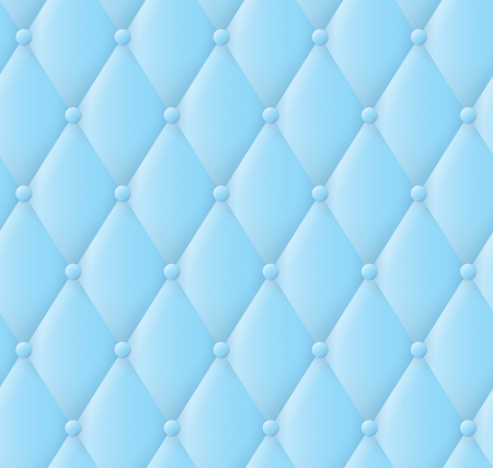 tufted: abstract blue upholstery background.