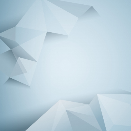 polygonal design  Abstract geometrical background  Иллюстрация