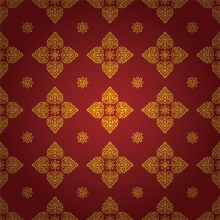 Thai traditional art  Thai Art Background, Thai art pattern, Vector  Ilustrace