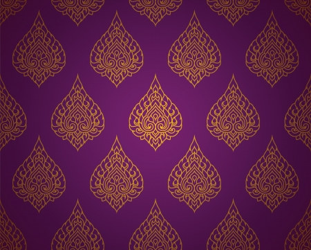 Thai traditional art  Thai Art Background, Thai art pattern, Vector  Vector