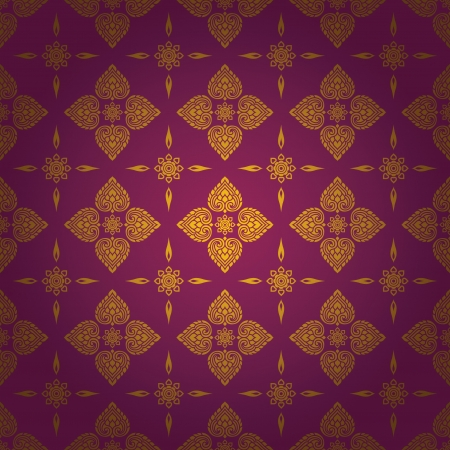thai style: Thai traditional art  Thai Art Background, Thai art pattern, Vector  Illustration