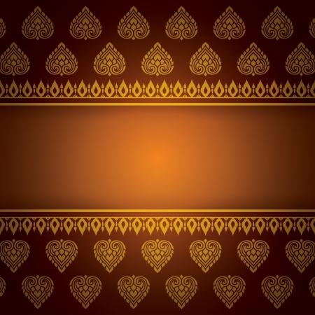 아시아 아트 배경, 아시아 예술 패턴의 벡터