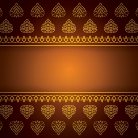 Asian Art Background, Asian art pattern vector Stock Vector - 21640118