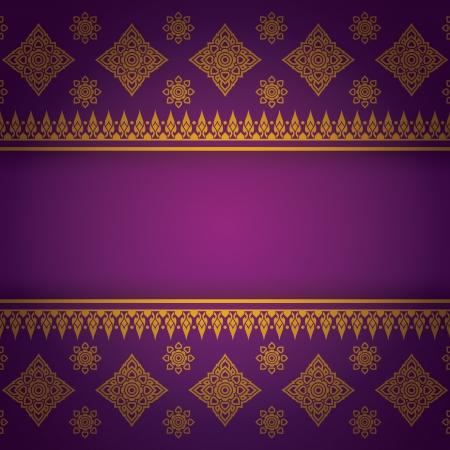 Asian Art Background, Asian art pattern vector   Stock Vector - 21640121