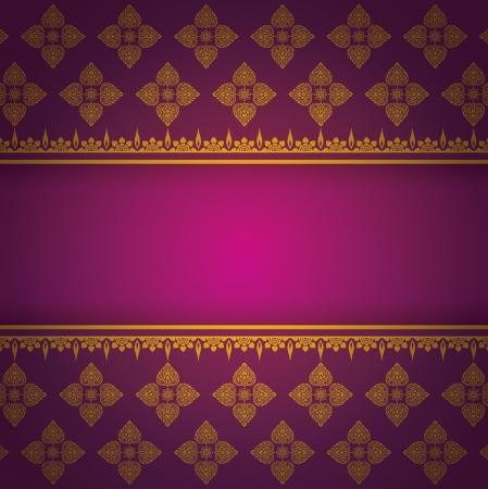 Asian Art Background, Asian art pattern vector   Vector