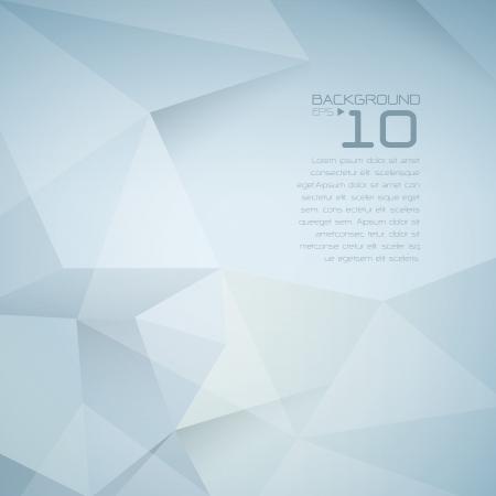 Polygon-Design - Zusammenfassung geometrischen Hintergrund Standard-Bild - 21640128