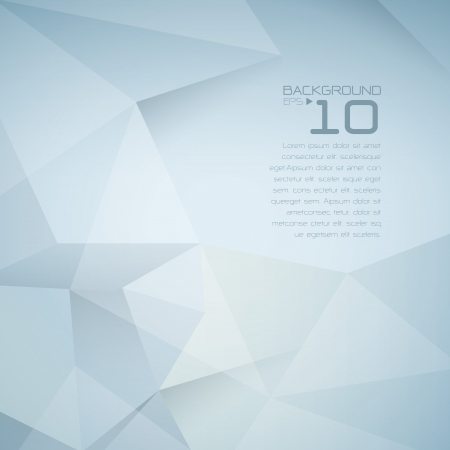 Polygonal design - Abstract geometrical background Stock Vector - 21640128