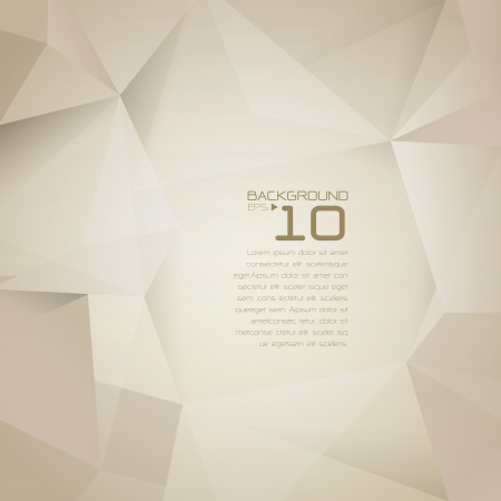 polygonal: Polygonal design - Abstract geometrical background   Illustration