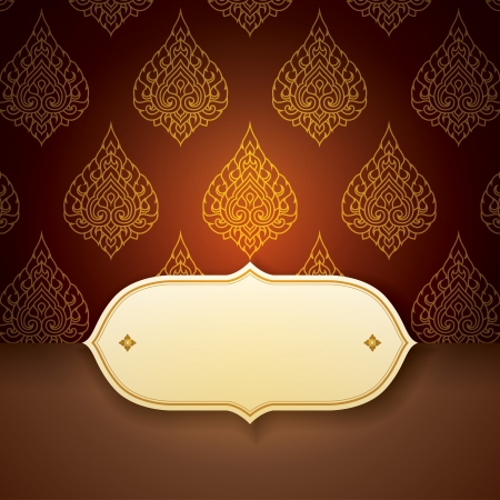 Asian  tradition art pattern cover design