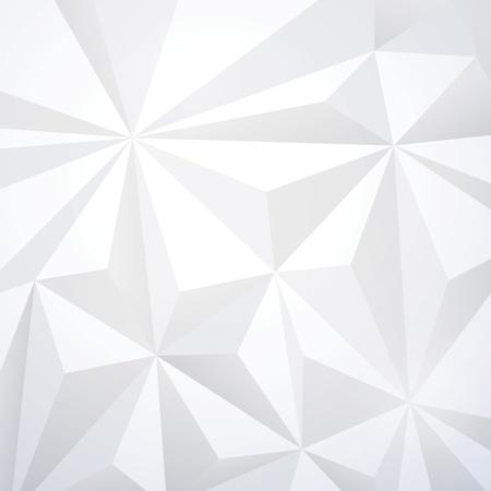 White geometric wallpaper background  Illustration