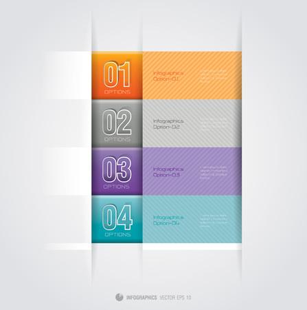 Infographics vector design template Stock Vector - 22228940