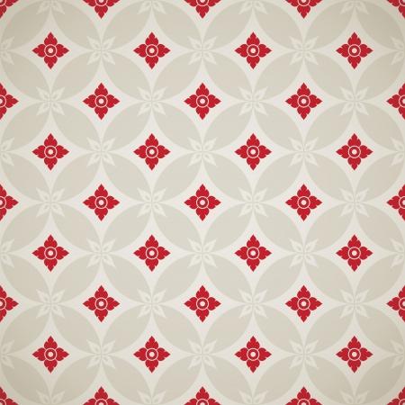 Thai Art Background vector, Thai art pattern vector Stock Vector - 22229004
