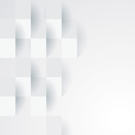 wallpaper wall: White geometric wallpaper background  Illustration