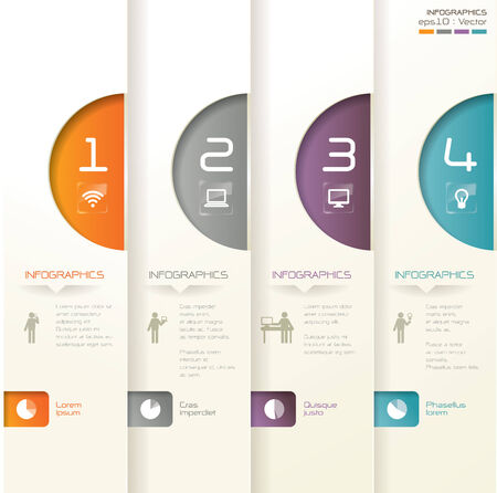 graphic: Infographics vector design template