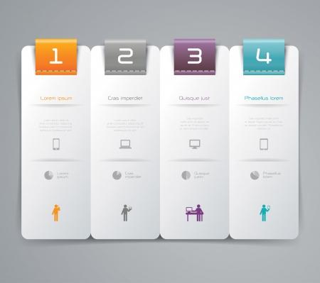 Infographics design template