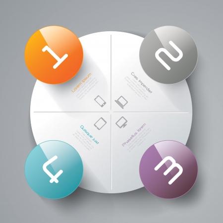 Infografik-Design-Vorlage