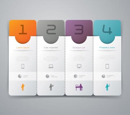 Plantilla de diseño Infografía