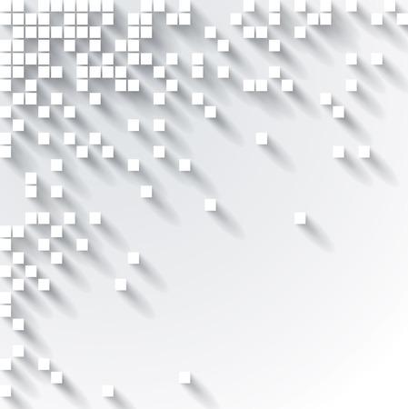 Abstract 3D Cube Design  Vector